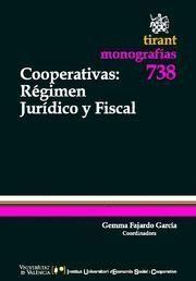COOPERATIVAS REGIMEN JURIDICO Y FISCAL
