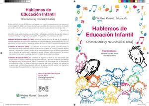 HABLEMOS DE EDUCACIÓN INFANTIL