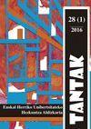 TANTAK VOL. 28, NÚM. 1 (2016)
