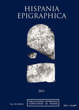 HISPANIA EPIGRAPHICA VOL. 20