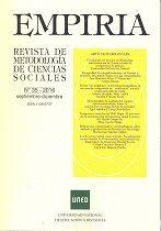 EMPIRIA. REVISTA DE METODOLOGÍA DE CIENCIAS SOCIALES NÚM. 35 (SEPTIEMBRE-DICIEMBRE 2016)