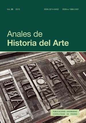 ANALES DE HISTORIA DEL ARTE VOL. 25