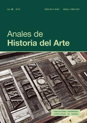 ANALES DE HISTORIA DEL ARTE VOL. 25
