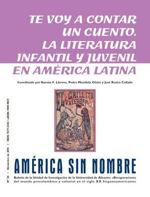 AMÉRICA SIN NOMBRE Nº 20 (2015)