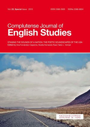 COMPLUTENSE JOURNAL OF ENGLISH STUDIES VOL. 23 (2015): SPECIAL ISSUE
