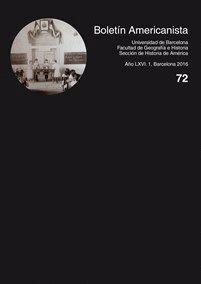 BOLETÍN AMERICANISTA Nº 72 (2016)