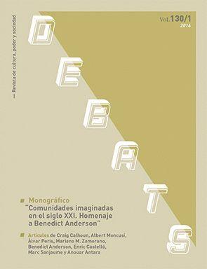 DEBATS. REVISTA DE CULTURA, PODER I SOCIETAT NÚM. 130/1
