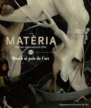 MATÈRIA. REVISTA INTERNACIONAL D'ART Nº 10-11 (2016)