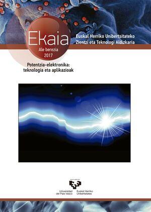 EKAIA Nº 30 (2016). EUSKAL HERRIKO UNIBERTSITATEKO ZIENTZI ETA TEKNOLOGI ALDIZKARIA