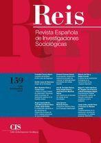 REIS. REVISTA ESPAÑOLA DE INVESTIGACIONES SOCIOLÓGICAS Nº 159