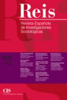REIS. REVISTA ESPAÑOLA DE INVESTIGACIONES SOCIOLÓGICAS Nº 160