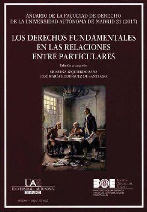 LOS DERECHOS FUNDAMENTALES EN LAS RELACIONES ENTRE PARTICULARES