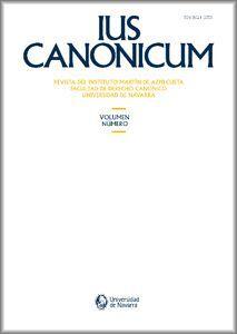 IUS CANONICUM VOL. 57 Nº 114 (DICIEMBRE 2017)