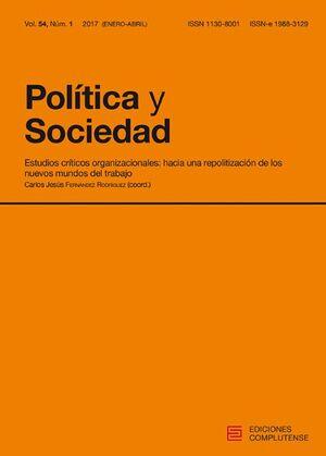 POLÍTICA Y SOCIEDAD, VOL. 54 NÚM. 1