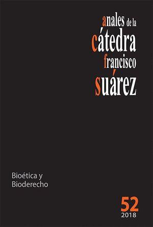 ANALES DE LA CÁTEDRA FRANCISCO SUÁREZ Nº 52 (2018)