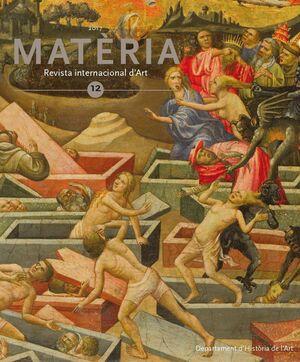 MATÈRIA. REVISTA INTERNACIONAL D'ART Nº 12 (2017)