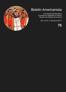 BOLETÍN AMERICANISTA Nº 75 (2017)