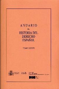ANUARIO DE HISTORIA DEL DERECHO ESPAÑOL Nº 87 (2017)