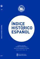 ÍNDICE HISTÓRICO ESPAÑOL Nº 130 (2ª ÉPOCA)