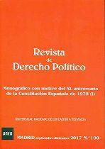 REVISTA DE DERECHO POLÍTICO Nº 100 (SEPTIEMBRE-DICIEMBRE 2017)