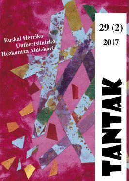 TANTAK VOL. 29, NÚM. 2 (2017)