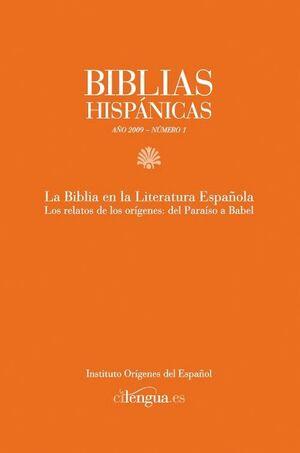 BIBLIAS HISPÁNICAS Nº 1 (2009)