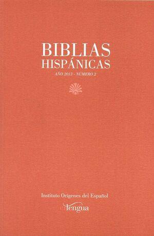 BIBLIAS HISPÁNICAS Nº 2 (2013)
