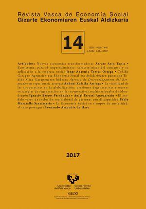 REVISTA VASCA DE ECONOMÍA SOCIAL Nº 14 (2017)