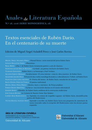 ANALES DE LITERATURA ESPAÑOLA Nº 29-30 (2018)