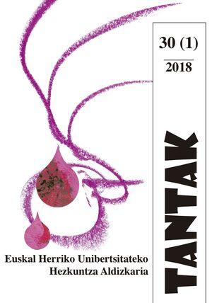 TANTAK VOL. 30, NÚM. 1 (2018)
