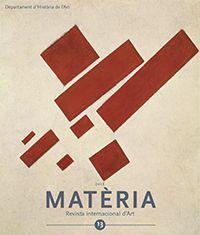 MATÈRIA. REVISTA INTERNACIONAL D'ART Nº 13 (2018)