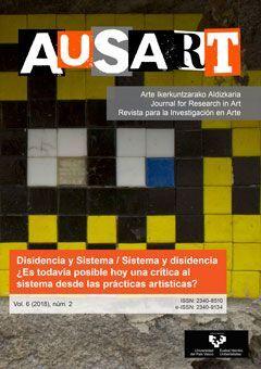 AUSART ALDIZKARIA VOL. 6 Nº 2 (2018) REVISTA PARA LA INVESTIGACIÓN EN ARTE