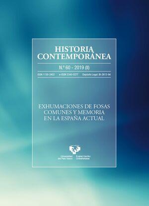HISTORIA CONTEMPORÁNEA NÚM. 60 (2019)