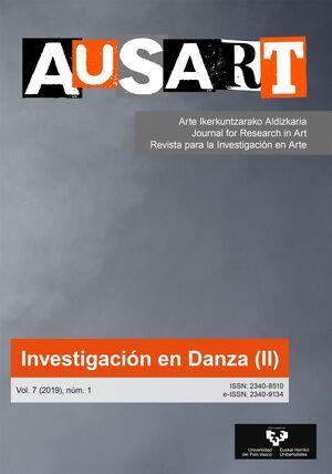 AUSART ALDIZKARIA VOL. 7 Nº 1 (2019) REVISTA PARA LA INVESTIGACIÓN EN ARTE
