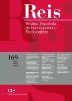 REIS. REVISTA ESPAÑOLA DE INVESTIGACIONES SOCIOLÓGICAS Nº 169