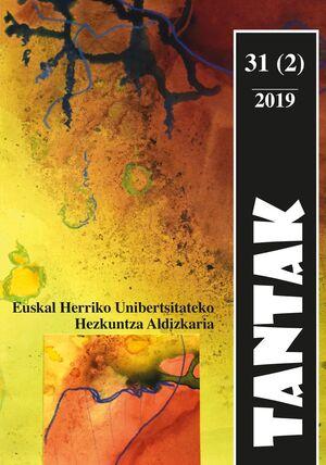 TANTAK VOL. 31, NÚM. 2 (2019)