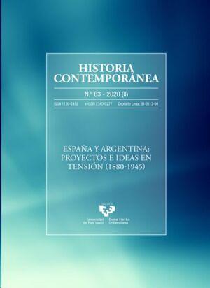 HISTORIA CONTEMPORÁNEA NÚM. 63 (2020)