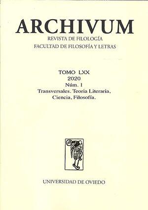 ARCHIVUM VOL. 70 Nº 1 (2020)