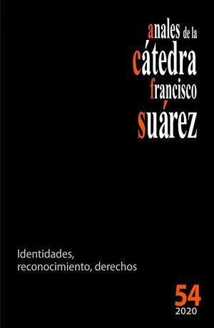 ANALES DE LA CÁTEDRA FRANCISCO SUÁREZ Nº 54 (2020)