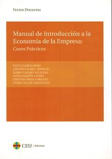 MANUAL DE INTRODUCCIÓN A LA ECONOMÍA DE LA EMPRESA